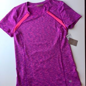 Forever 21 new workout top with tags, pink